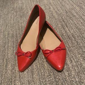 Alfani Pointed Toe Flats. 8.5M